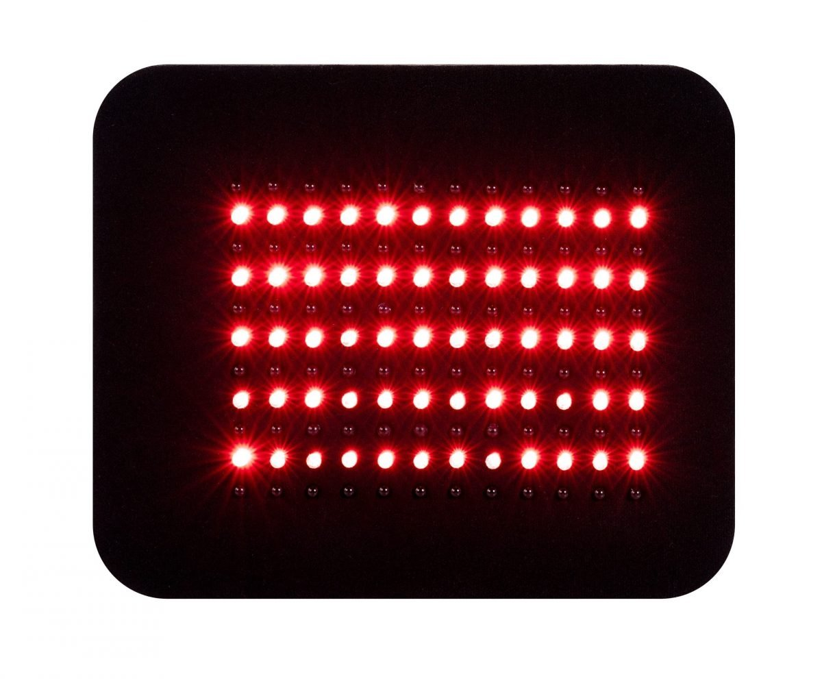 Inlight Therapy Inc LED light therapy pad Local 132 in red