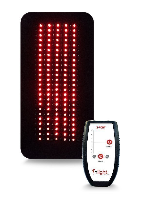 Inlight Therapy Inc. LED light system with 2 port controller and 1 LED pad