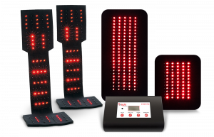 Inlight Therapy Inc. LED light system with 6 port controller and 4 LED pads for podatric use